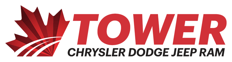 Tower Chrysler Dodge Jeep RAM logo