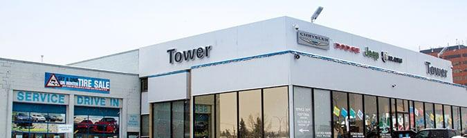 Tower Chrysler Dodge Jeep RAM